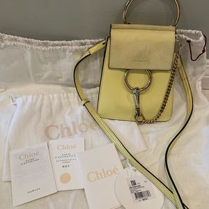 Chloe mini Faye Bracelet bag